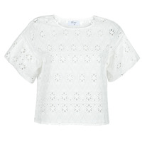 Textiel Dames Tops / Blousjes Betty London OCHERIE Wit