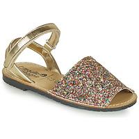 Schoenen Meisjes Sandalen / Open schoenen Citrouille et Compagnie SQUOUBEL Multi