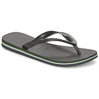 Schoenen Teenslippers Havaianas BRASIL Zwart