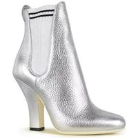 Schoenen Dames Enkellaarzen Vintage  Zilver