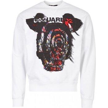 Textiel Heren Sweaters / Sweatshirts Dsquared S71GU0312 Wit