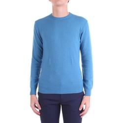Textiel Heren Truien Bramante D8001 Azzurro
