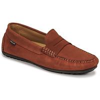 Schoenen Heren Mocassins Pellet Cador Rood