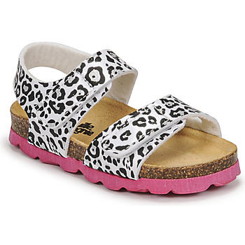 Schoenen Meisjes Sandalen / Open schoenen Citrouille et Compagnie BELLI JOE Luipaard