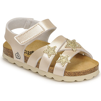 Schoenen Meisjes Sandalen / Open schoenen Citrouille et Compagnie OKILIA Goud