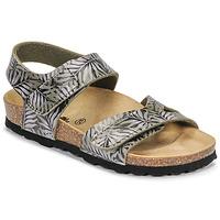 Schoenen Kinderen Sandalen / Open schoenen Citrouille et Compagnie BELLI JOE Print / Feuille