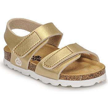 Schoenen Meisjes Sandalen / Open schoenen Citrouille et Compagnie BELLI JOE Goud