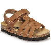 Schoenen Jongens Sandalen / Open schoenen Citrouille et Compagnie JANISOL Bruin