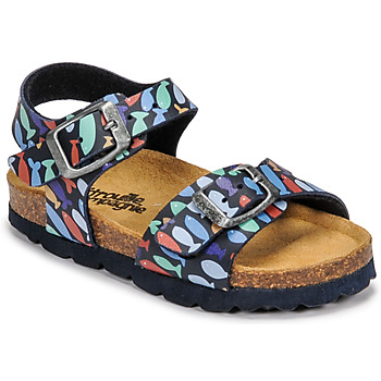 Schoenen Jongens Sandalen / Open schoenen Citrouille et Compagnie RELUNE Multicolour