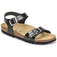 Schoenen Meisjes Sandalen / Open schoenen Citrouille et Compagnie RELUNE Zwart / Slang