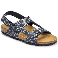 Schoenen Jongens Sandalen / Open schoenen Citrouille et Compagnie KELATU Marine / Print