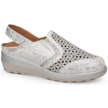 Schoenen Dames Sandalen / Open schoenen Calzamedi SANDAAL  0728 BLANCO