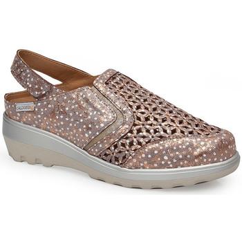 Schoenen Dames Sandalen / Open schoenen Calzamedi SANDAAL  0728 BRONZEN