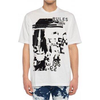 Textiel Heren T-shirts korte mouwen Dsquared S74GD0530 Wit