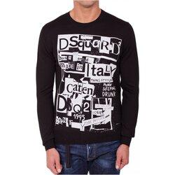 Textiel Heren Truien Dsquared S74HA0955 Zwart