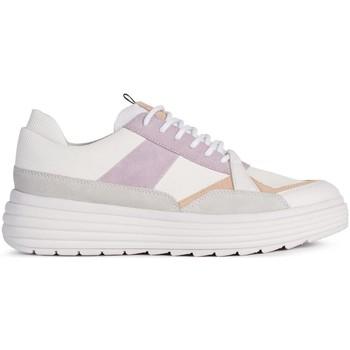 Schoenen Dames Lage sneakers Geox D Phaolae Sportschuhe Weiß