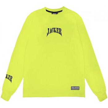 Textiel Heren T-shirts met lange mouwen Jacker Corpo Groen
