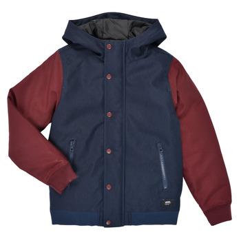 Textiel Jongens Wind jackets Vans BY WELLS MTE Bordeau