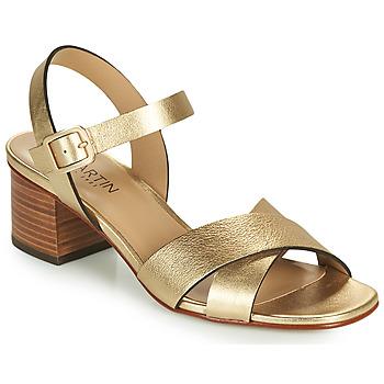 Schoenen Meisjes Sandalen / Open schoenen JB Martin OXIA Goud