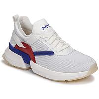Schoenen Dames Lage sneakers Skechers SPLIT/OVERPASS Wit / Blauw / Rood