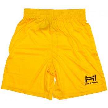 Textiel Heren Korte broeken / Bermuda's Hungaria  Geel