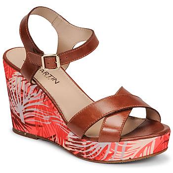 Schoenen Dames Sandalen / Open schoenen JB Martin OCELIA Bruin
