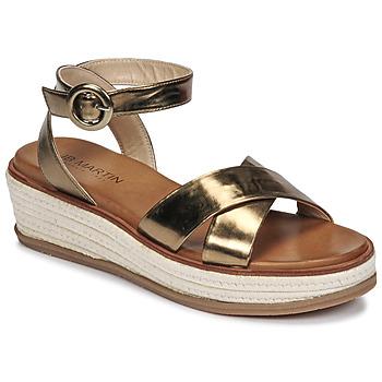 Schoenen Dames Sandalen / Open schoenen JB Martin CASTEL Kaki