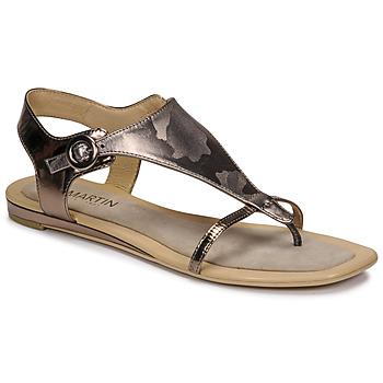 Schoenen Dames Sandalen / Open schoenen JB Martin ARMOR Grijs / Zilver