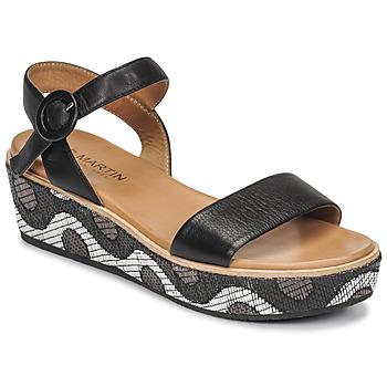 Schoenen Dames Sandalen / Open schoenen JB Martin CAT Zwart