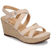 Schoenen Dames Sandalen / Open schoenen JB Martin DARELO E19 Zand