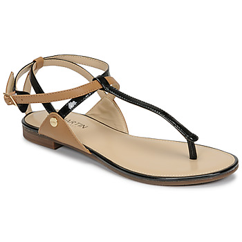 Schoenen Dames Sandalen / Open schoenen JB Martin GENIE Zwart