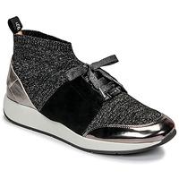 Schoenen Dames Lage sneakers JB Martin KASSIE SOCKS Zwart