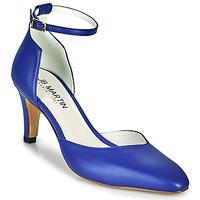 Schoenen Dames pumps JB Martin NATACHA Blauw