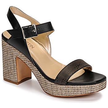 Schoenen Dames Sandalen / Open schoenen JB Martin XEPIA Zwart