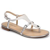 Schoenen Dames Sandalen / Open schoenen JB Martin GAELIA E20 Wit / Zilver