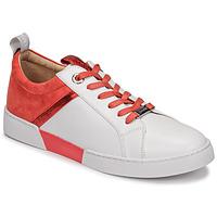 Schoenen Dames Lage sneakers JB Martin GELATO Wit / Koraal