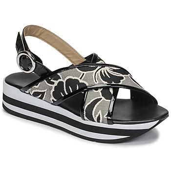 Schoenen Dames Sandalen / Open schoenen JB Martin ILANG Zwart