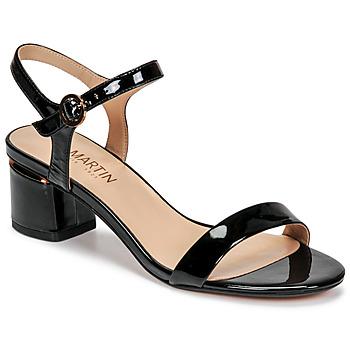 Schoenen Dames Sandalen / Open schoenen JB Martin MALINA E20 Zwart