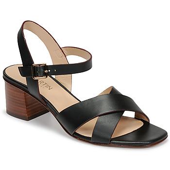 Schoenen Dames Sandalen / Open schoenen JB Martin OXIA Zwart
