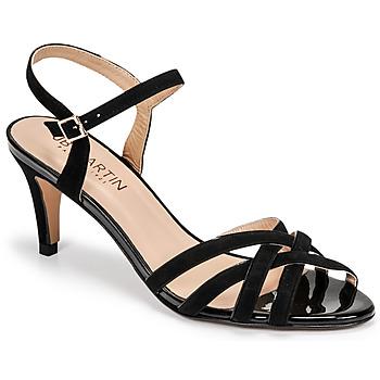 Schoenen Dames Sandalen / Open schoenen JB Martin PIRIA Zwart