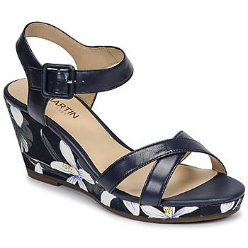 Schoenen Dames Sandalen / Open schoenen JB Martin QUERIDA E20 Marine
