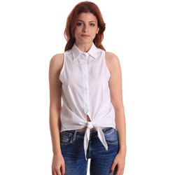 Textiel Dames Tops / Blousjes Fornarina BE174573CA1609 Wit