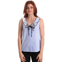 Textiel Dames Tops / Blousjes Fornarina SE174576CA1218 Blauw