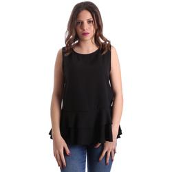 Textiel Dames Tops / Blousjes Gaudi 911FD45048 Zwart