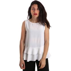 Textiel Dames Tops / Blousjes Gaudi 911FD45048 Wit
