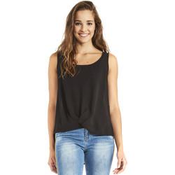 Textiel Dames Tops / Blousjes Gaudi 911BD45001 Zwart