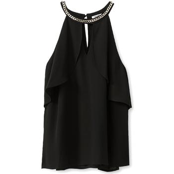 Textiel Dames Tops / Blousjes Liu Jo W19444T9767 Zwart