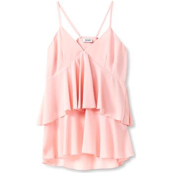 Textiel Dames Tops / Blousjes Liu Jo F19006T5540 Roze