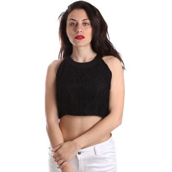 Textiel Dames Tops / Blousjes Fracomina FR19SP689 Zwart