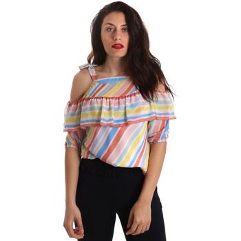 Textiel Dames Tops / Blousjes Fracomina FR19SP556 Wit